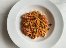 Shrimp Fra Diavolo with Toasted Breadcrumbs Recipe