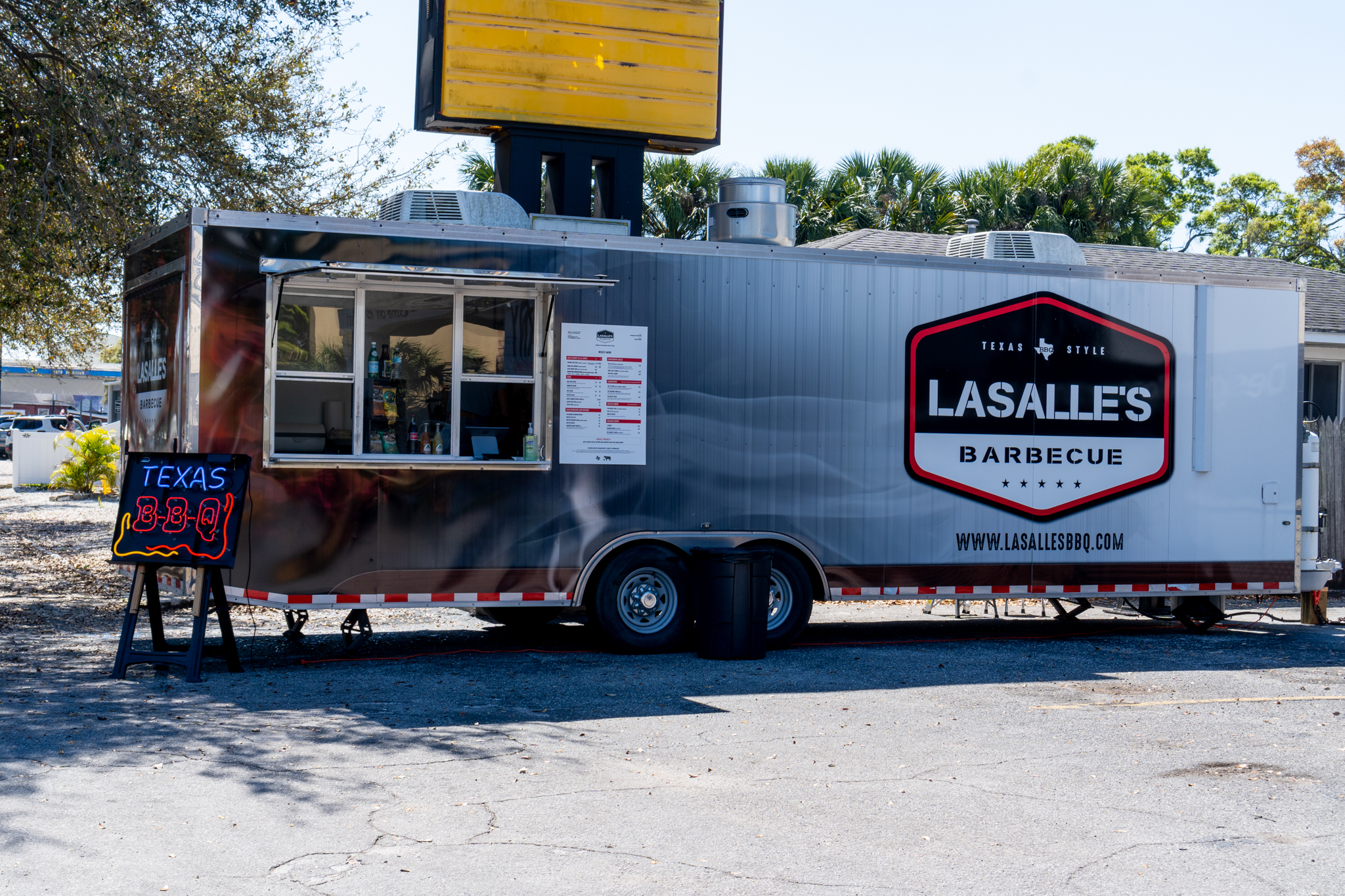 Lasalle's Barbecue Food Truck