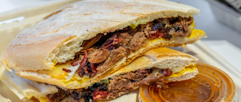 Feast on Texas Style BBQ at LaSalle's Barbecue Food Truck