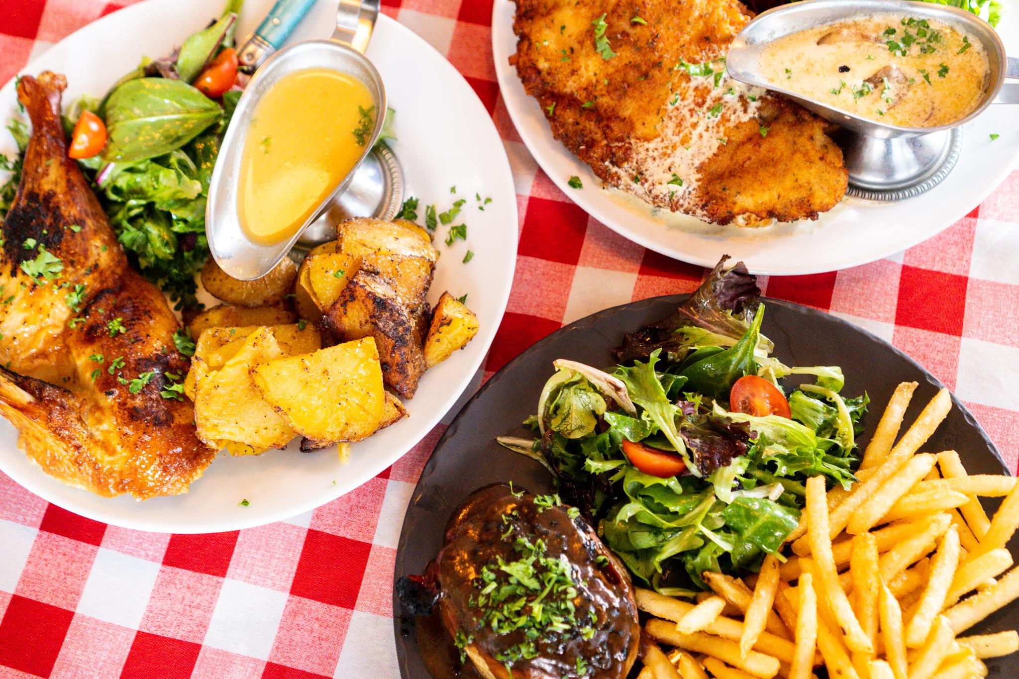 Alsace Dinner Entrees