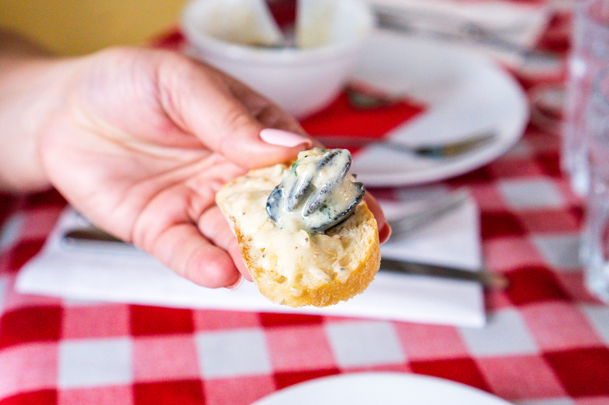 Alsace Escargots on Bread