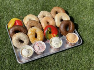 Beans & Barlour Airstream: Assorted NY Bagels