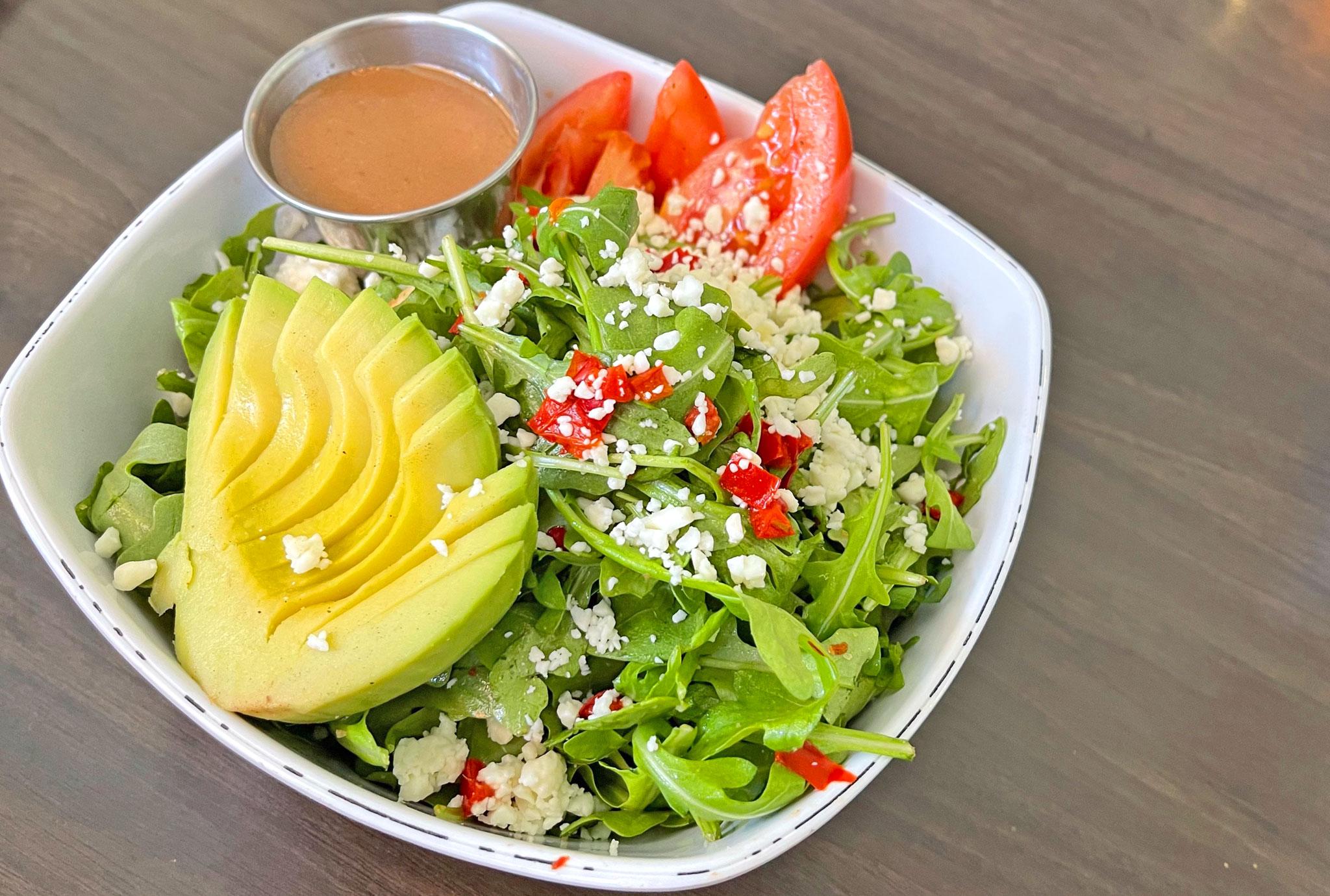 Avocado Panzanella Salad