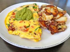 BLT Omelet