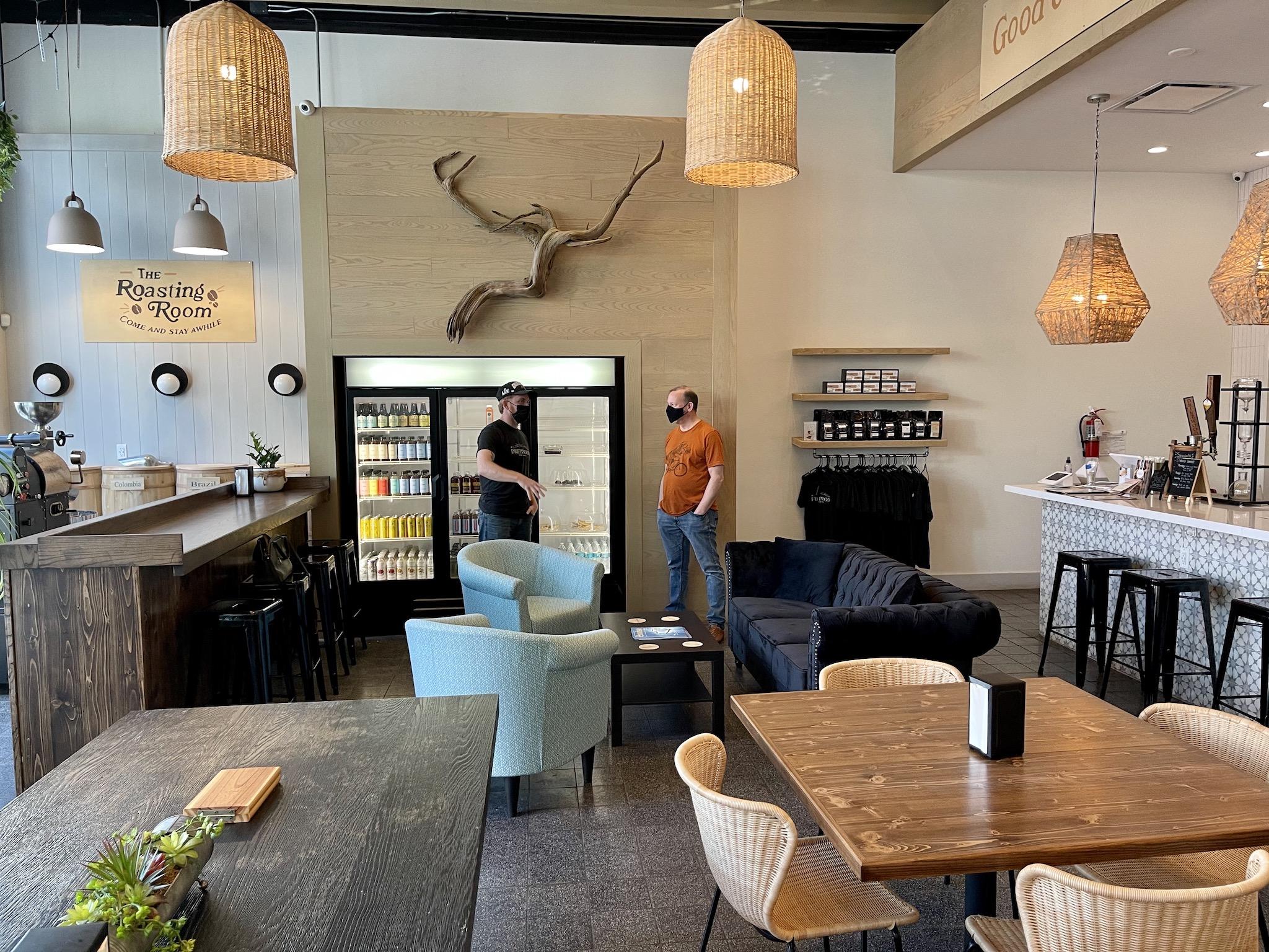 Driftwood Kava & Coffee Roastery - Cozy Interior