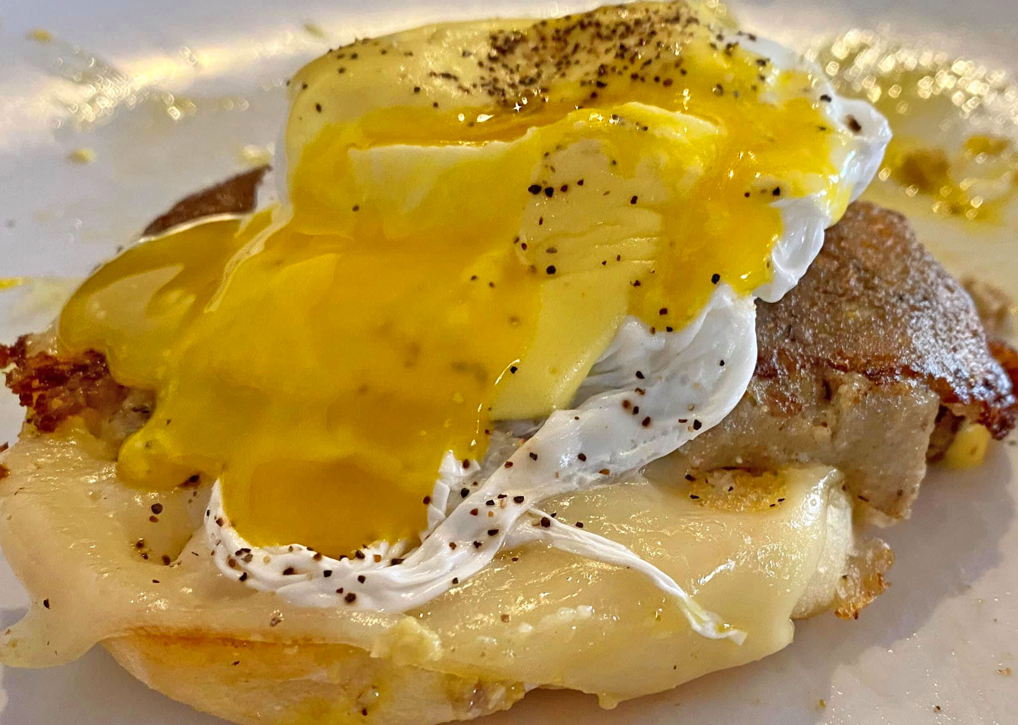 Dutch Benedict with Yolk Porn