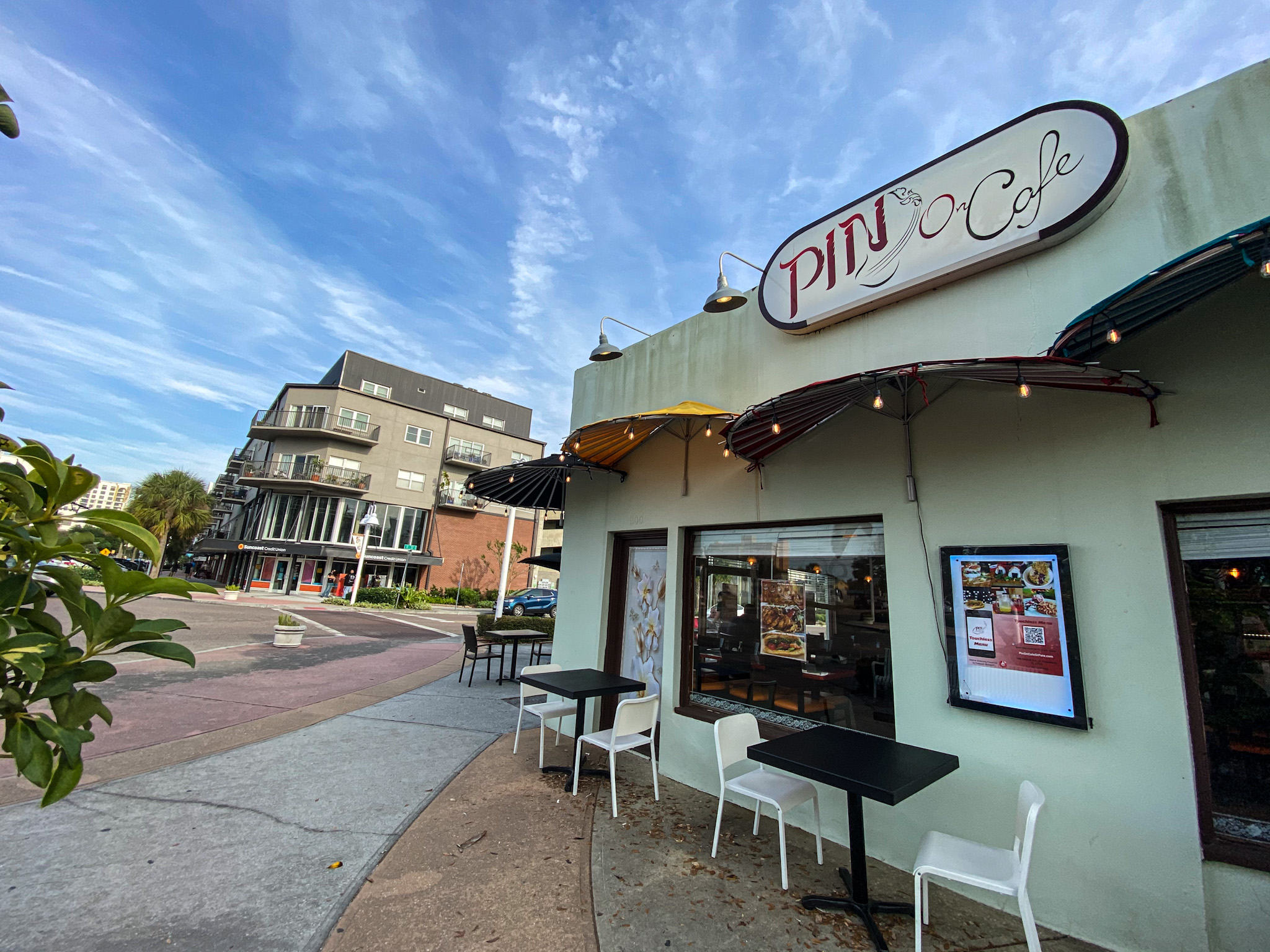 The new Pin On Cafe in The Edge District
