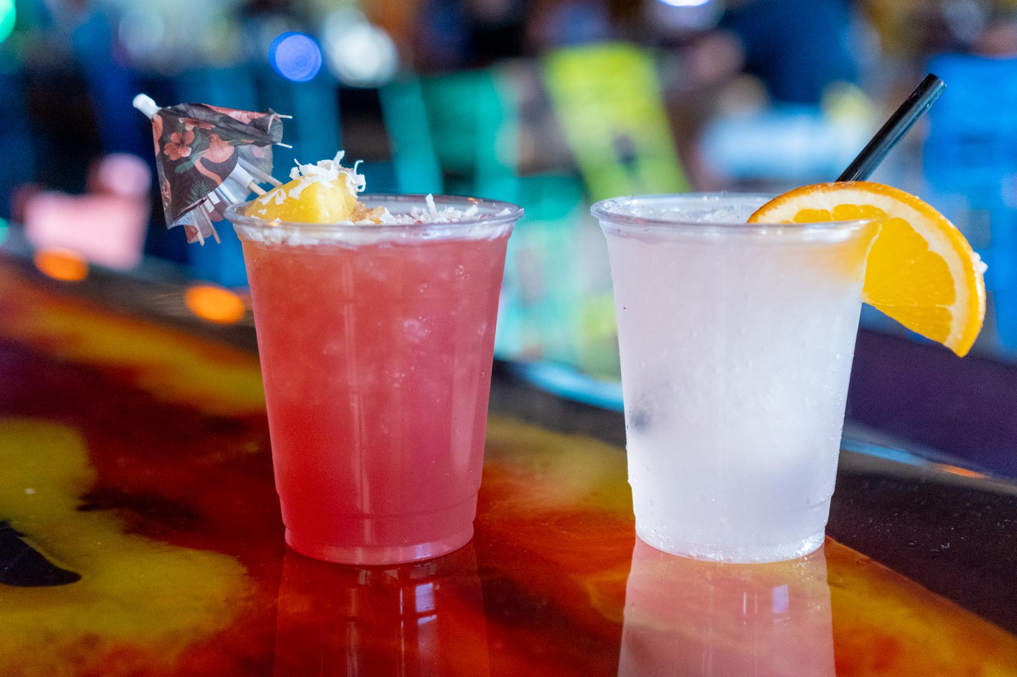 Twisted Tiki Aloha Punch and Vodka Soda