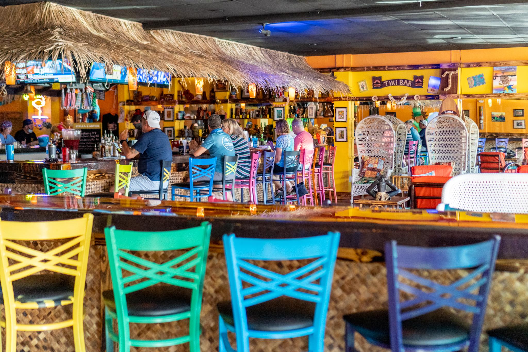 Twisted Tiki Interior Tiki Bar