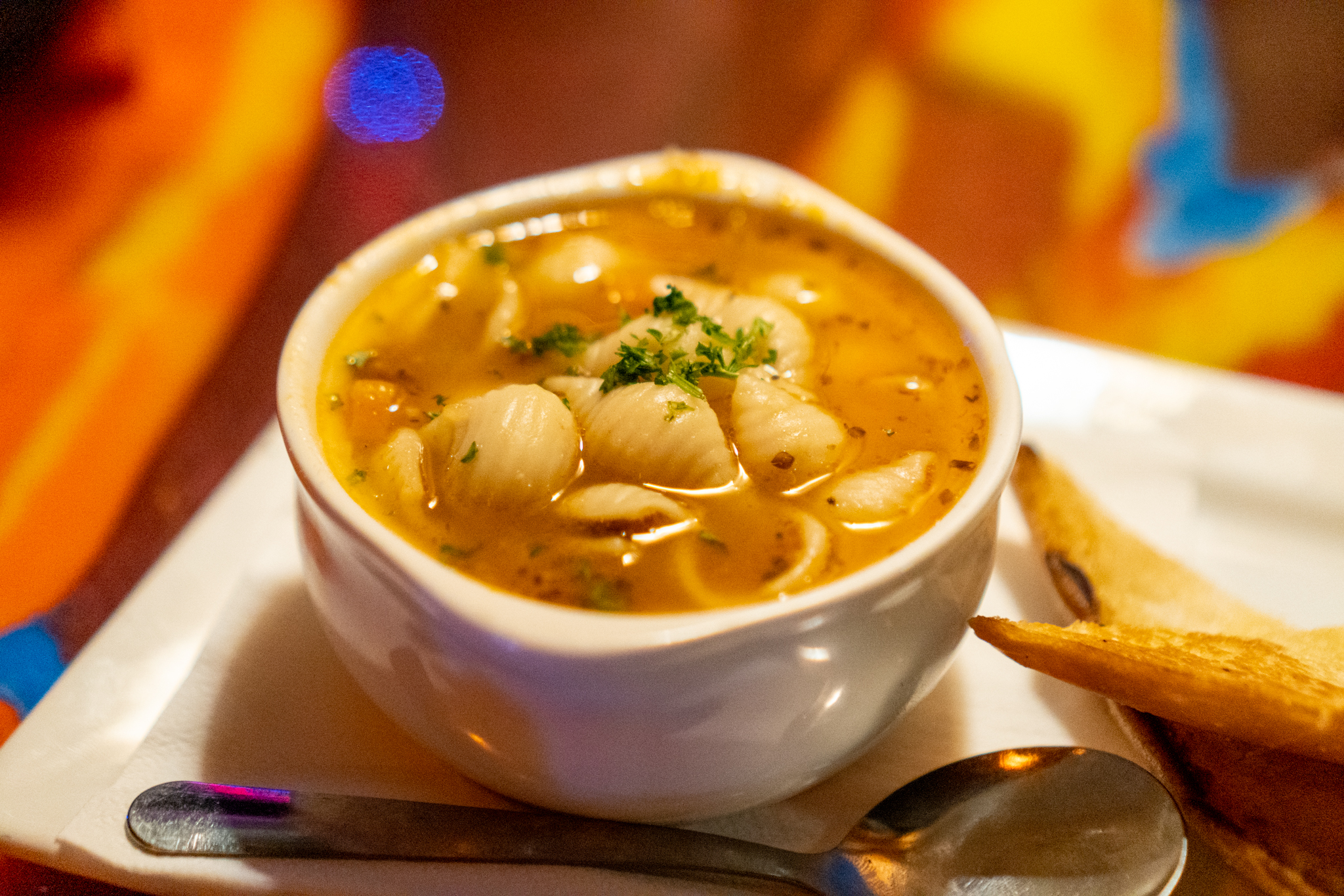 Twisted Tiki Soup of the Day Minestrone