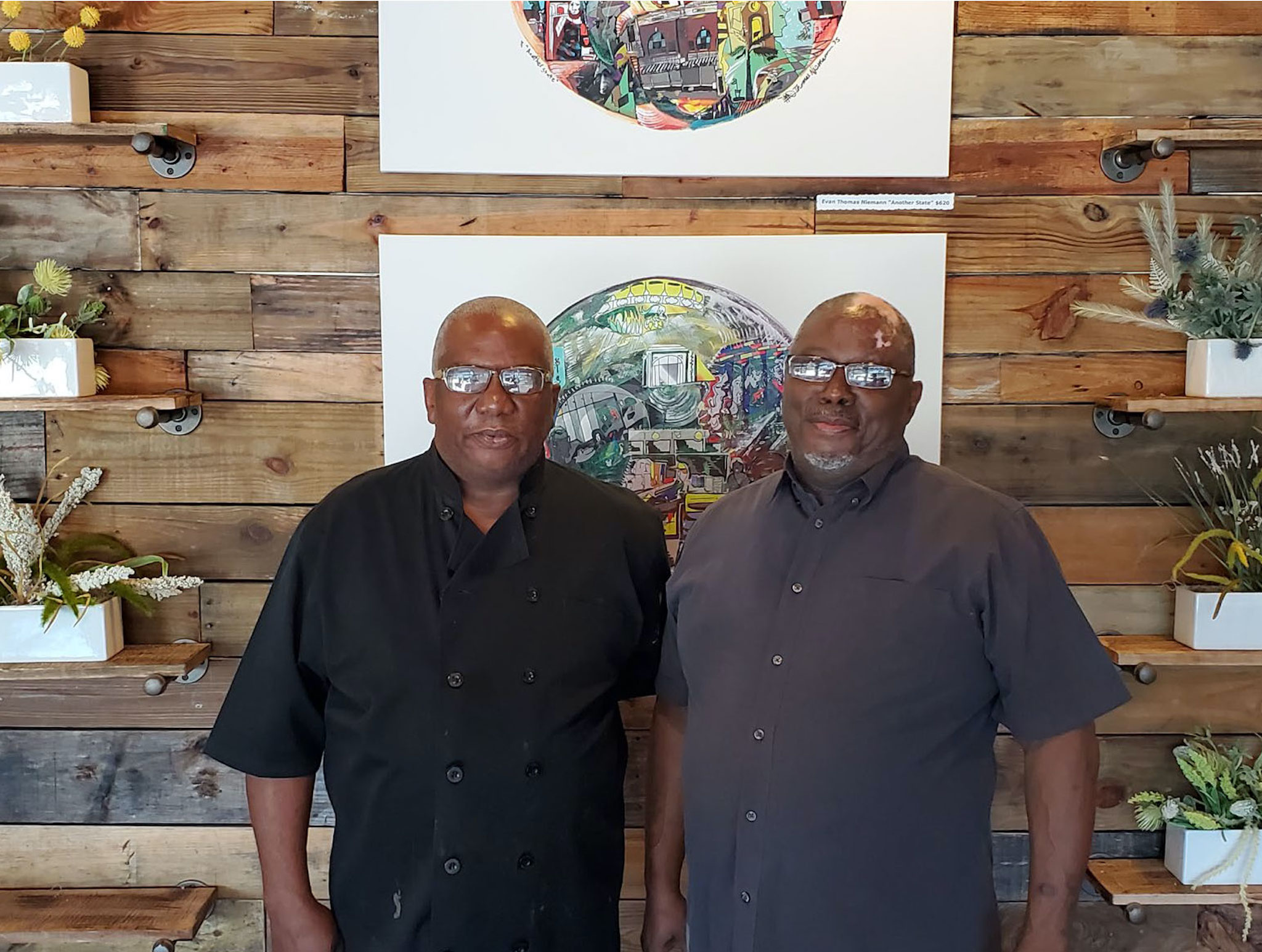 Brothers William and Bryan Graveley of Betterway BBQ