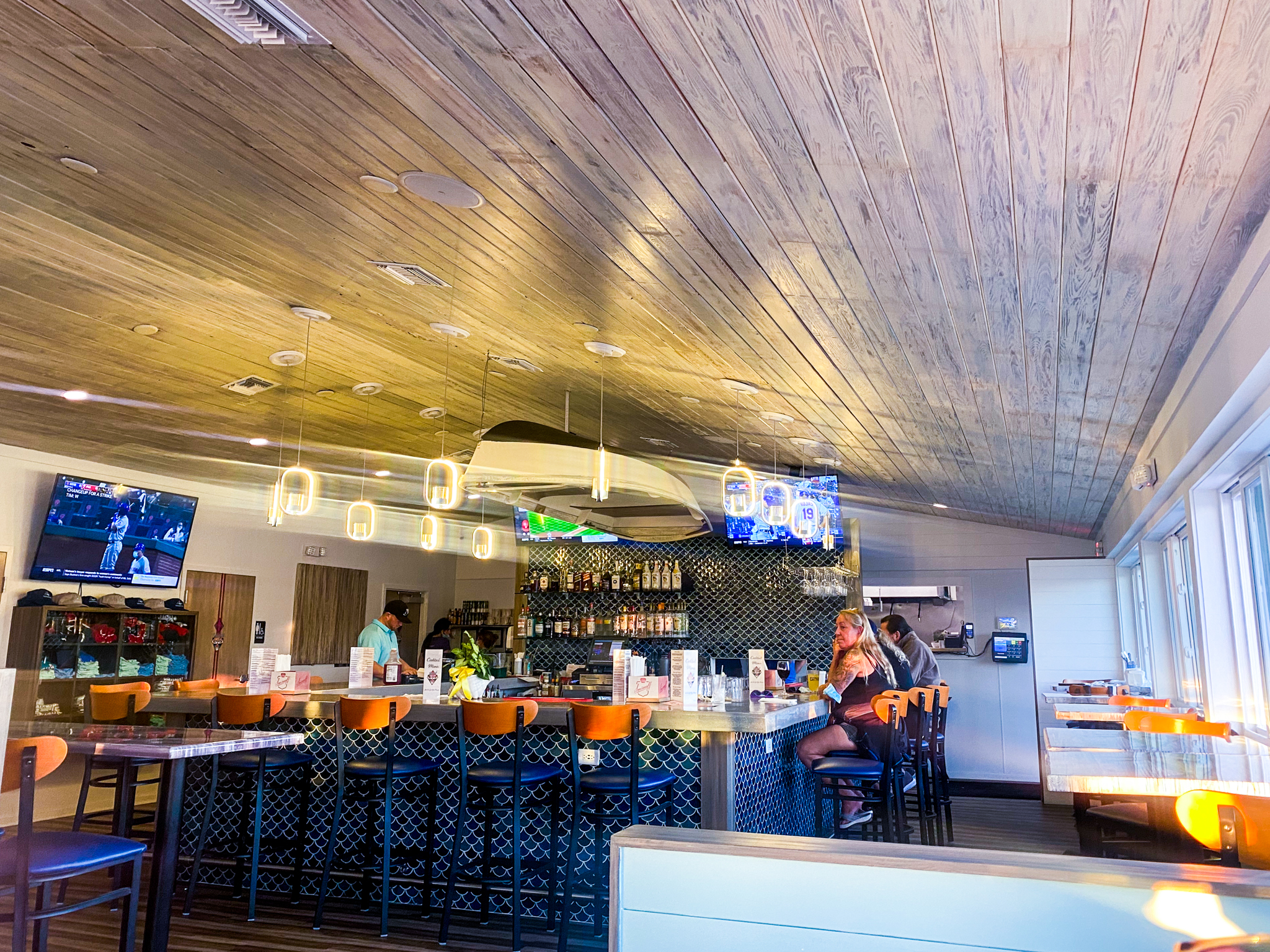 Buoys Waterfront Bar and Grill Upstairs Restaurant and Bar