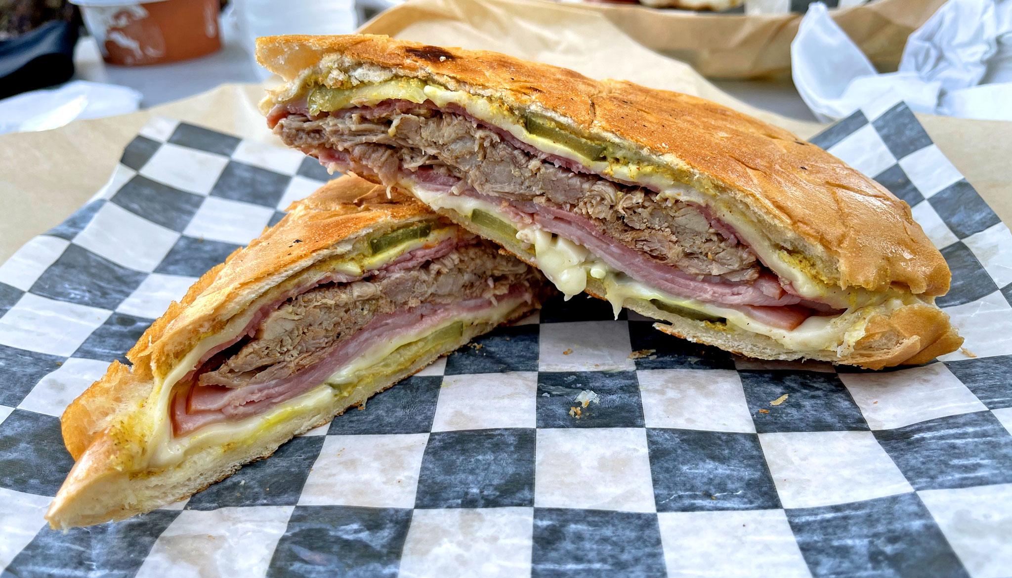Tommy's Famous Cuban Sandwich