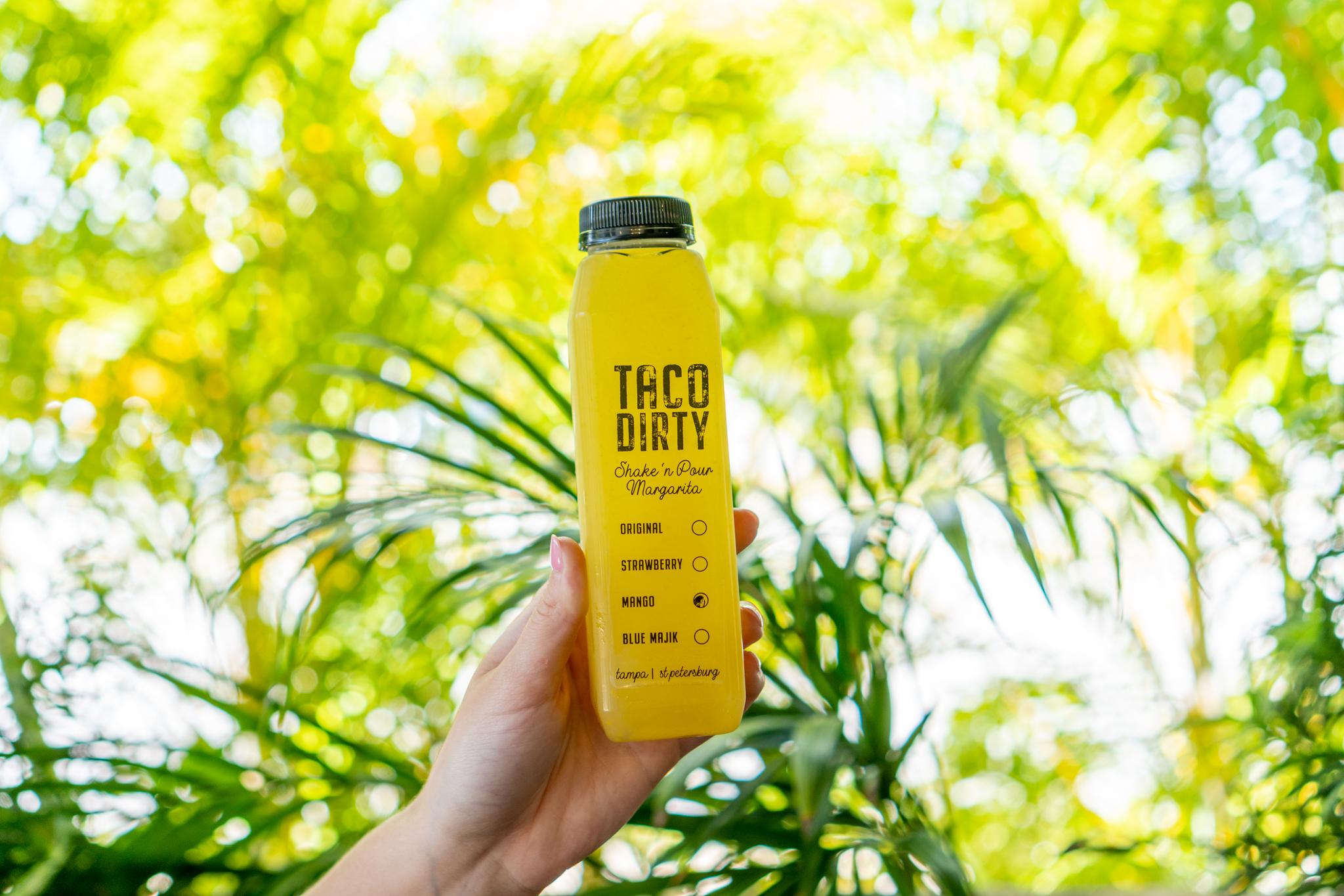 On The Fly Taco Dirty Mango Margarita