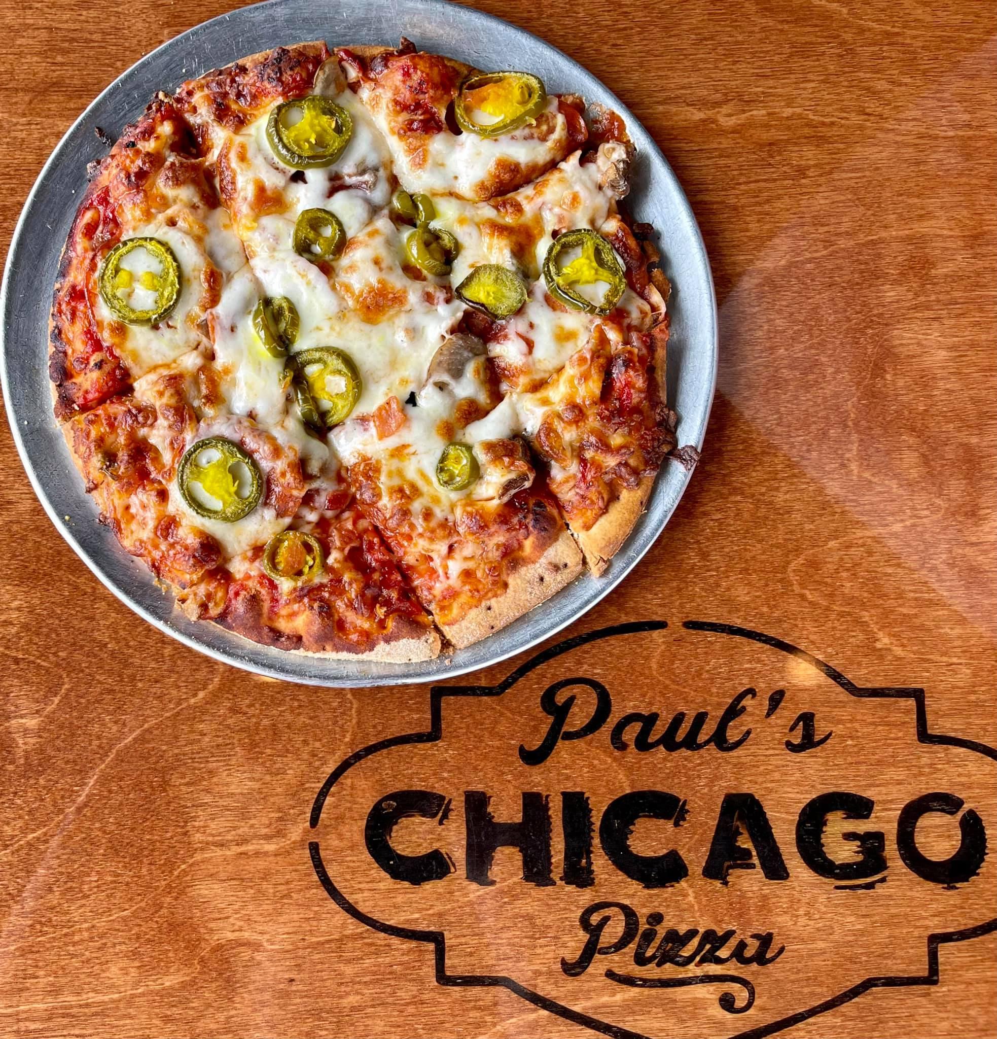 Paul's Original Thin Crust Chicago Pizza