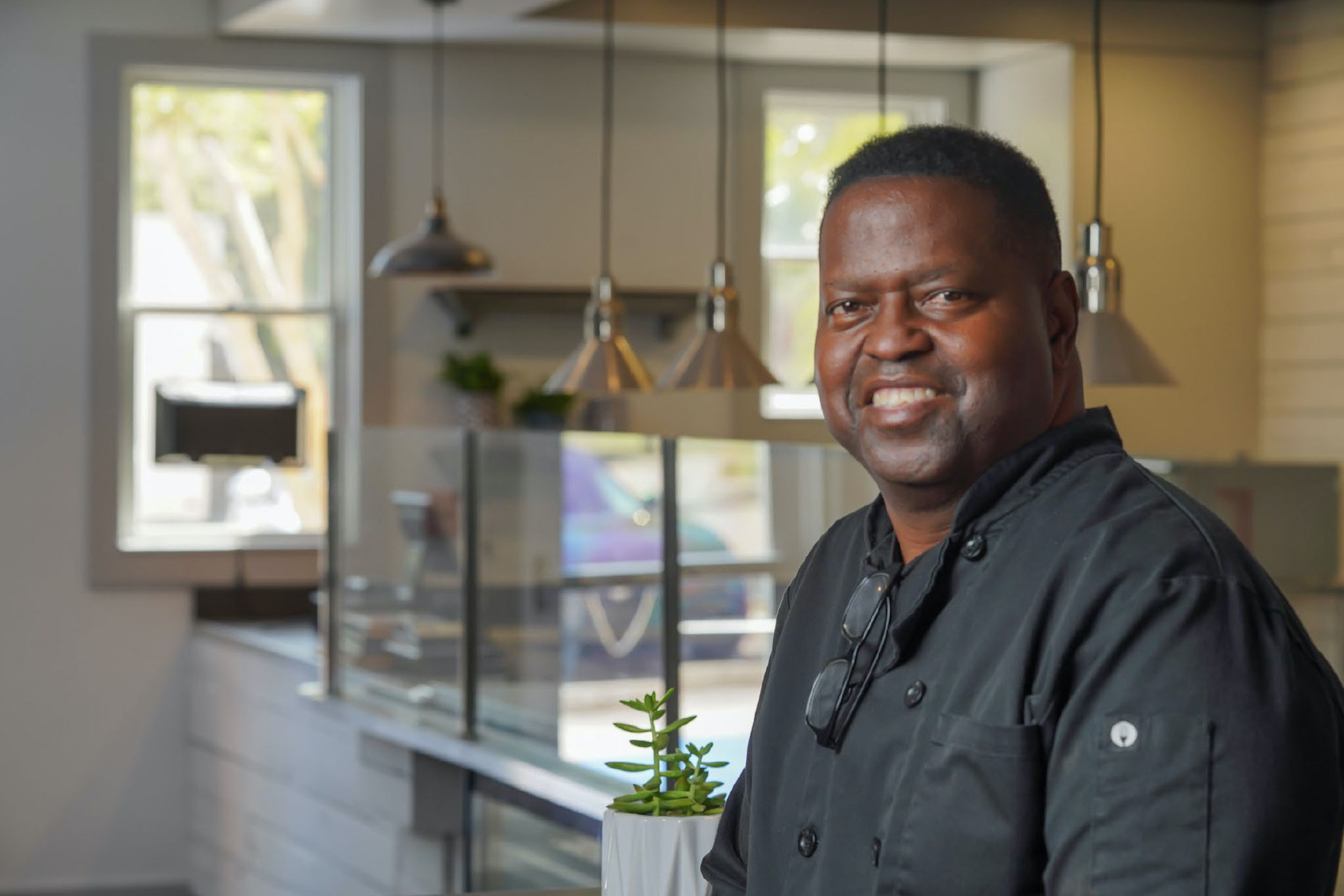 Chef Ray Milton of Ray's Vegan Soul