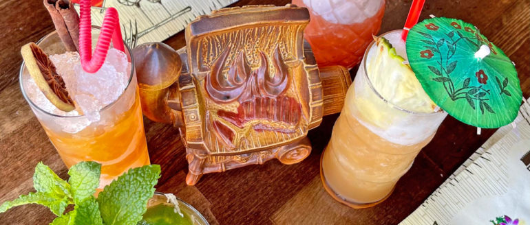 Go on Vacation to the New Burnt Ends Tiki Bar