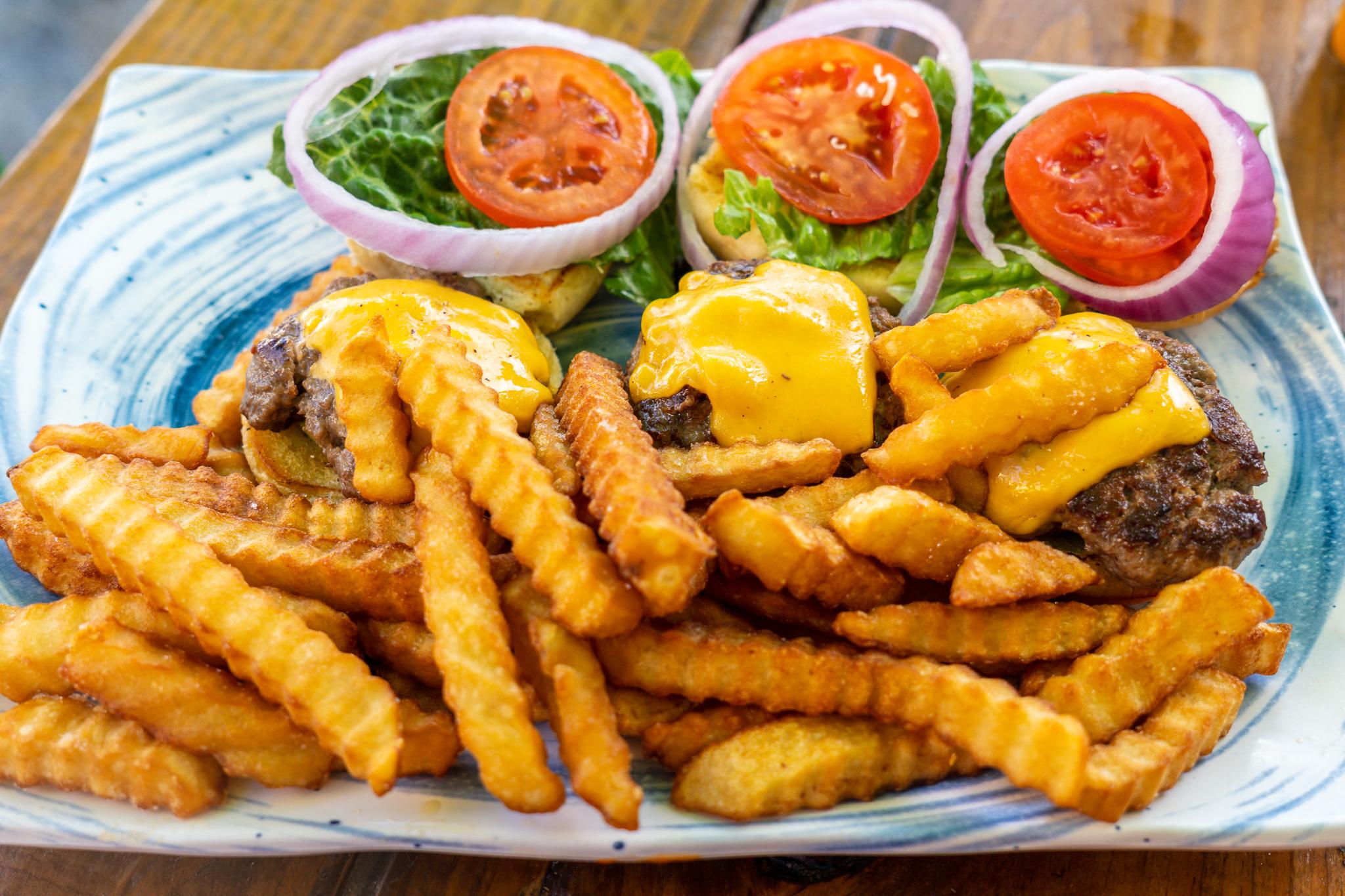 Burger-Ish Geez Louise Sliders