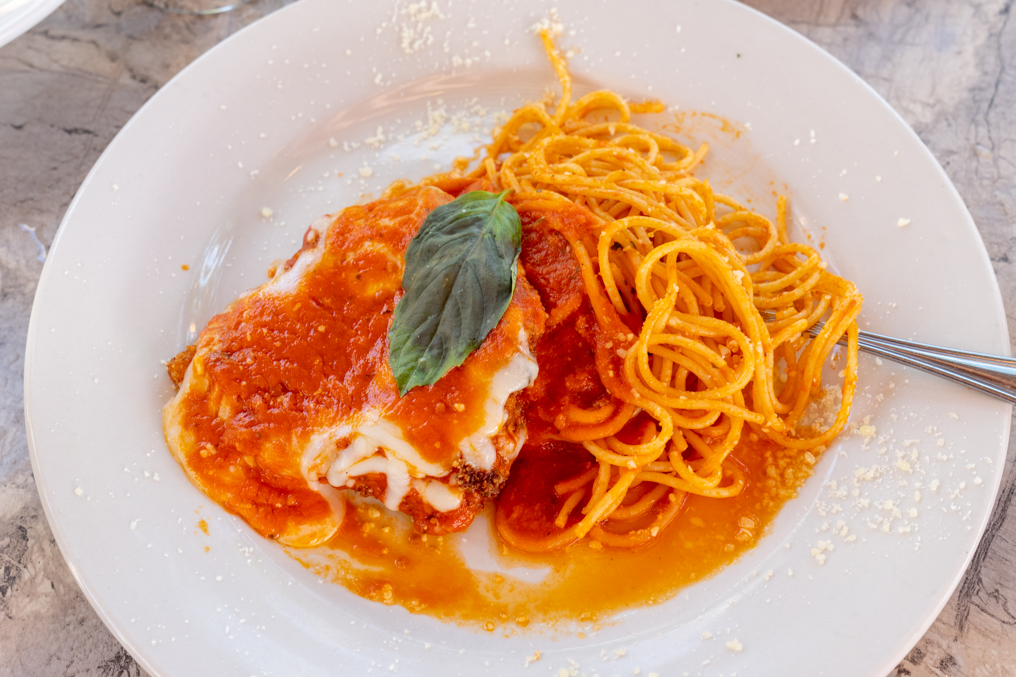 Tutto Bene Chicken Parmigiana