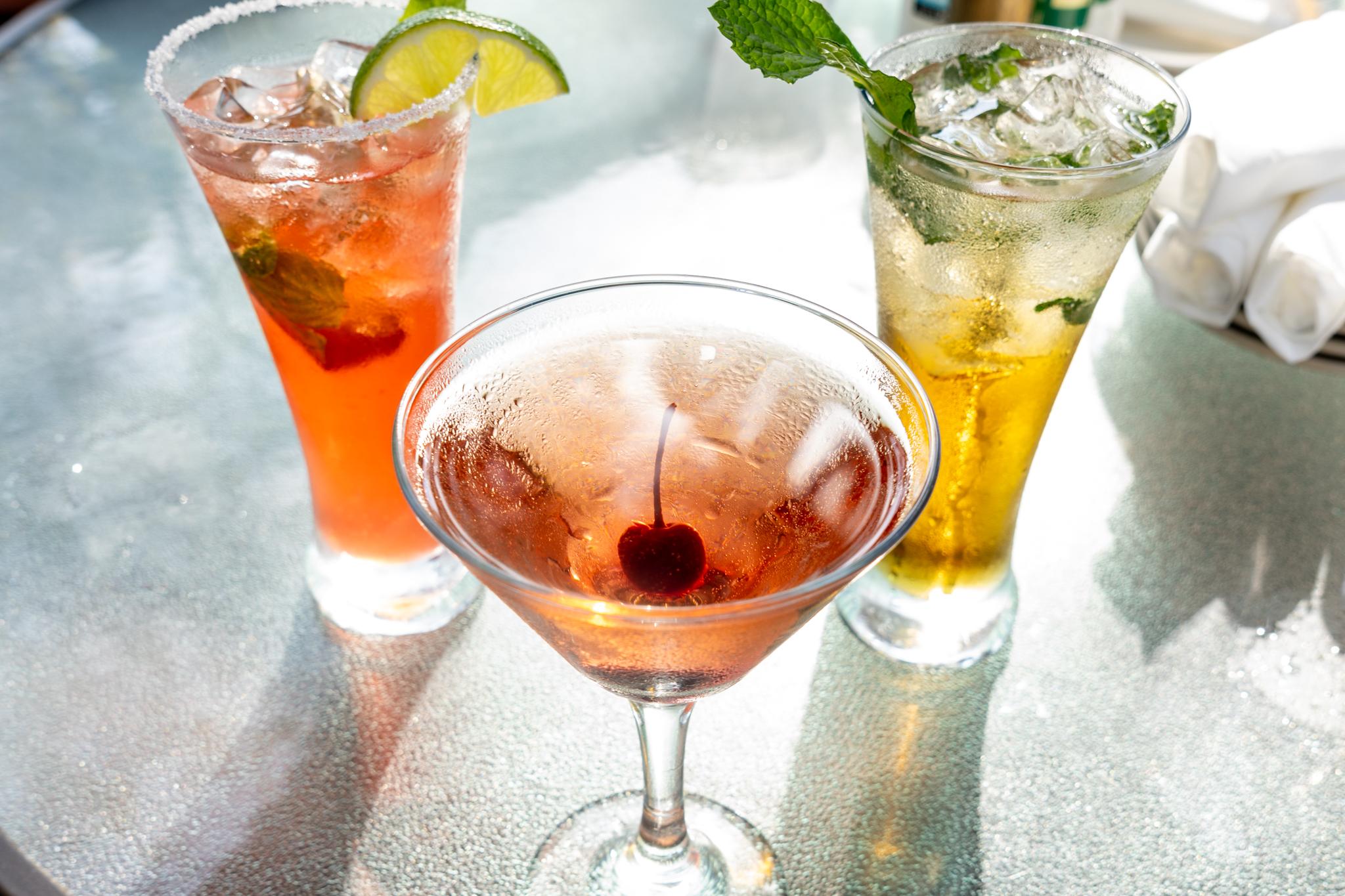 Tutto Bene Strawberry Margarita, Vice, Mojito