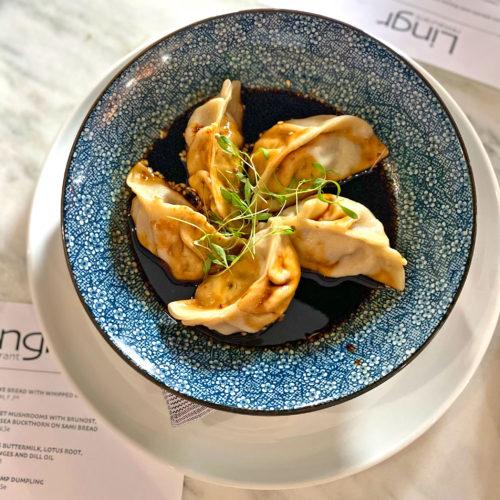 Spicy Chili Garlic Shrimp Dumpling