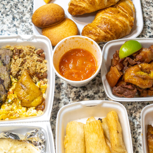 Mi Carreta Restaurant and Bakery Items