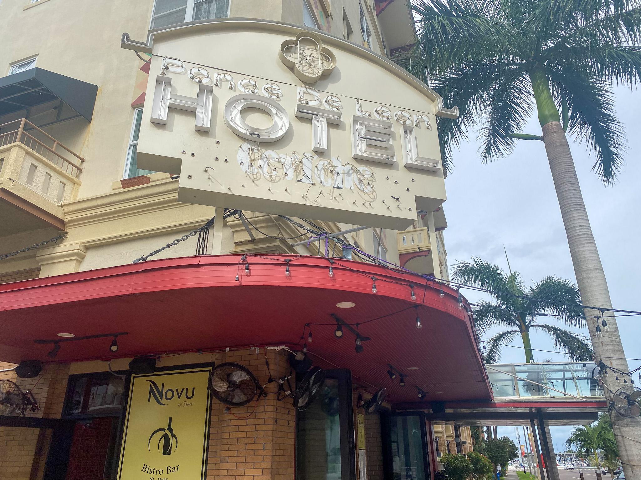 Novu Bistro Bar - next to the historic Ponce de Leon hotel