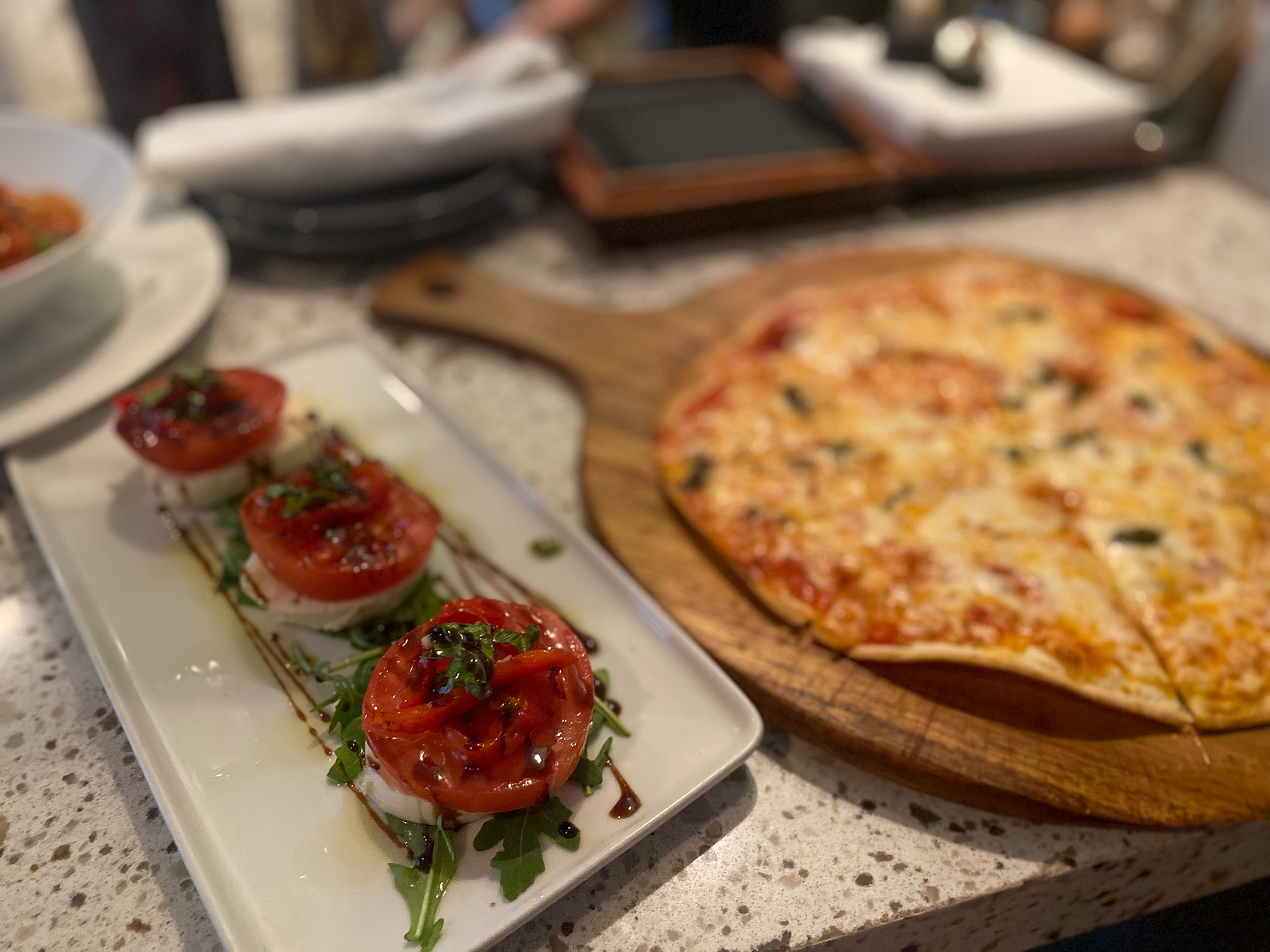 Caprese Salad and the Pizzetta