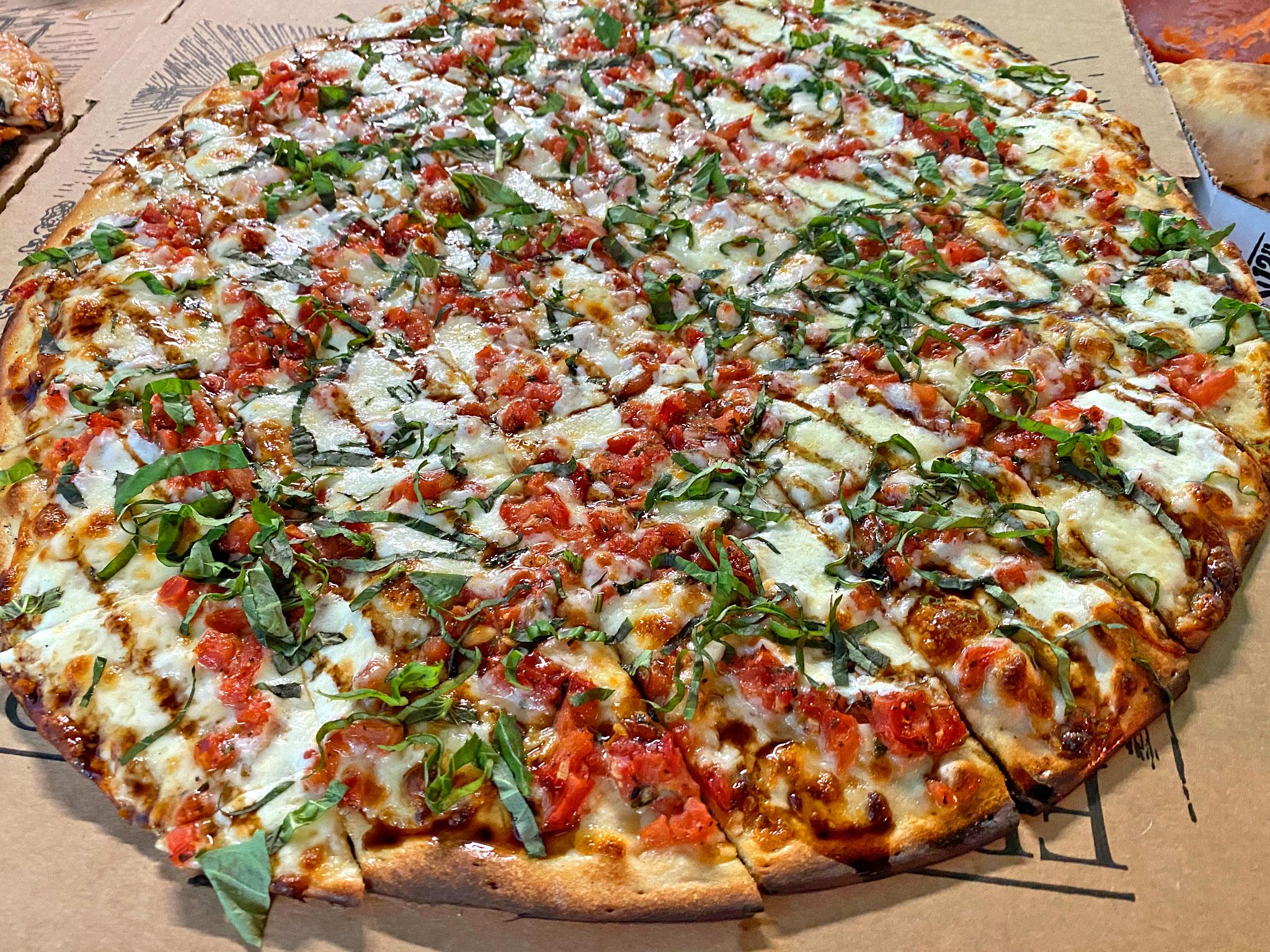 Caprese Train Ohio Pizza