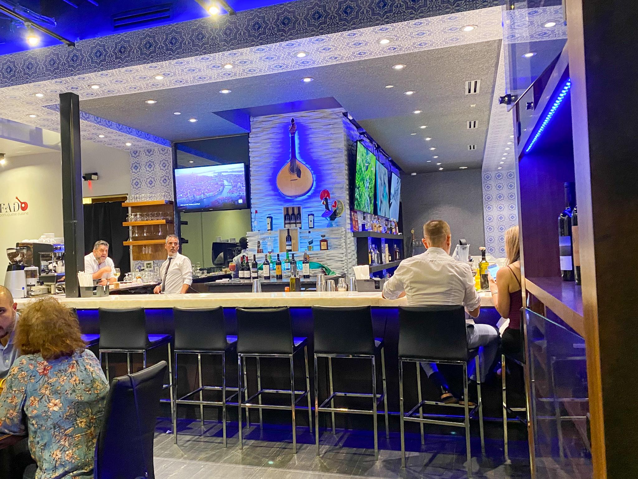 Fado Portuguese Cuisine Interior Bar