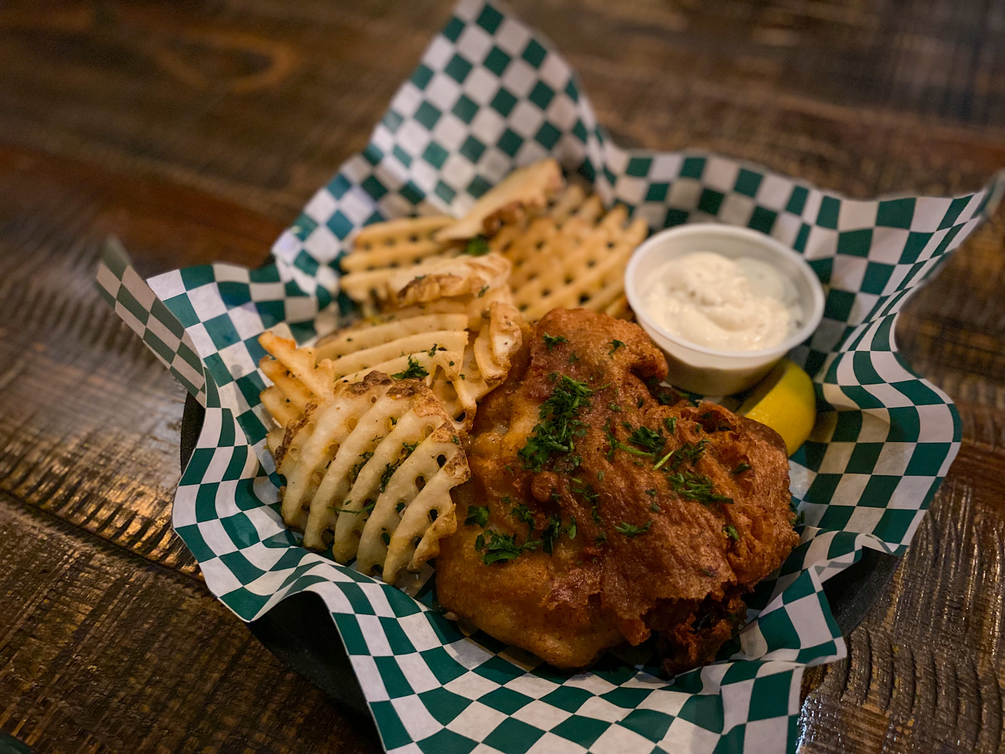 Grouper Fish and Chips