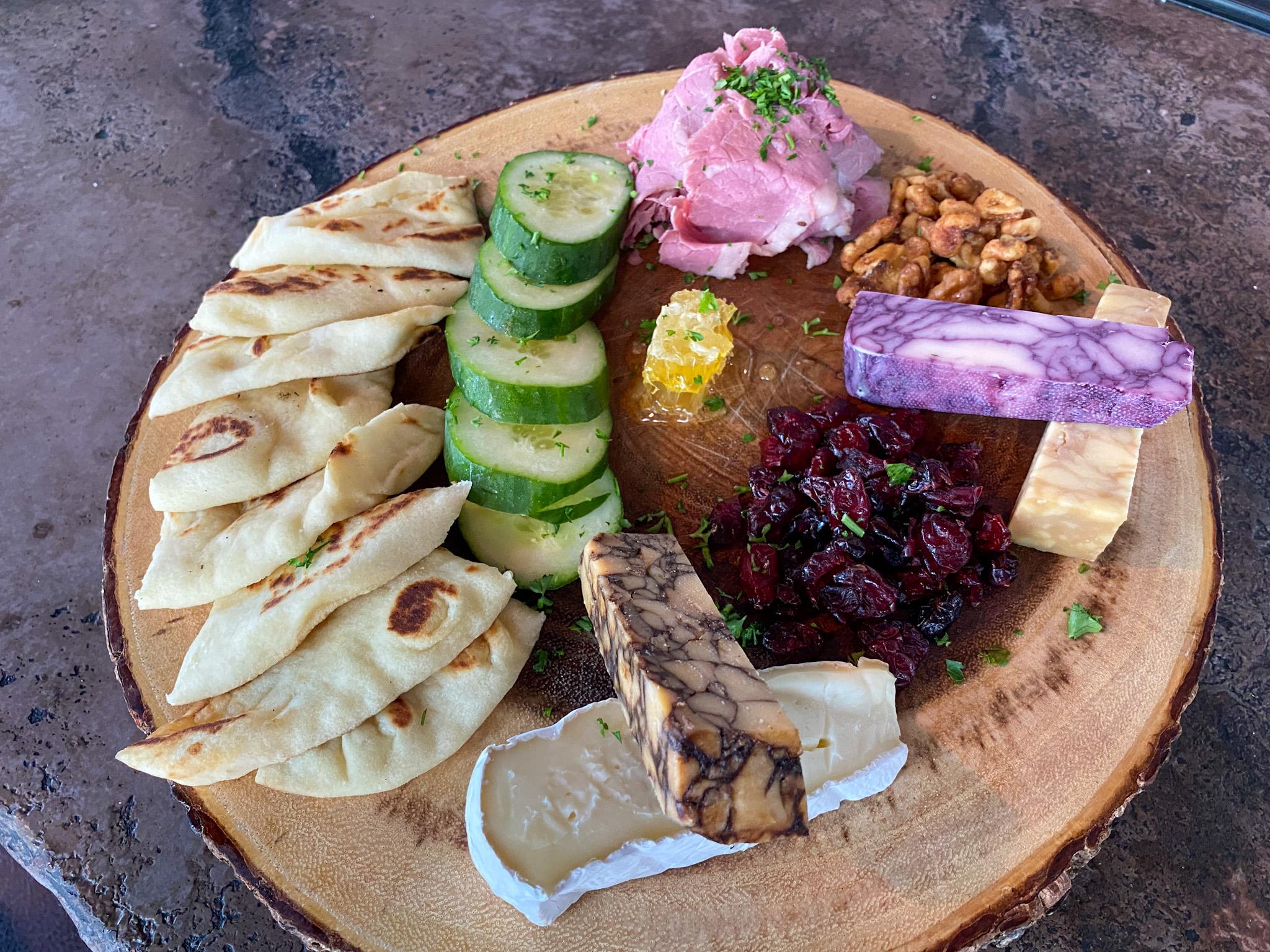 Hibernian Cheese Board