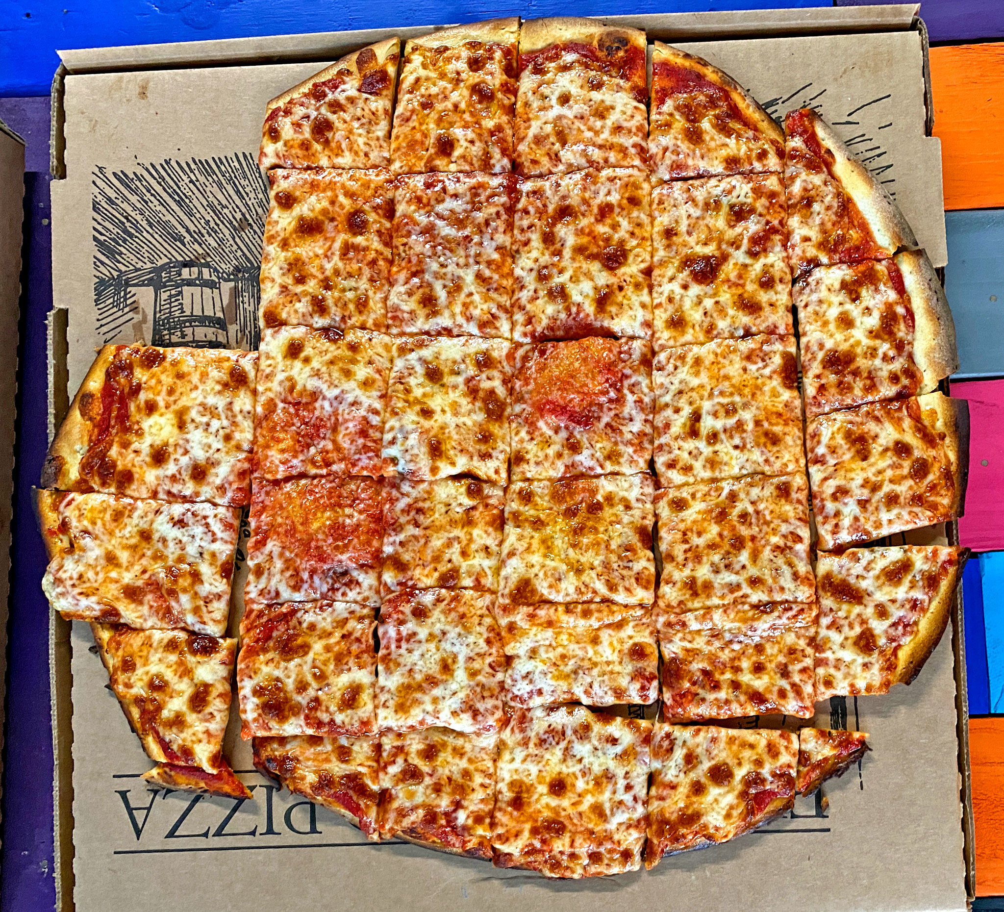 Plain Cheese Ohio Pizza