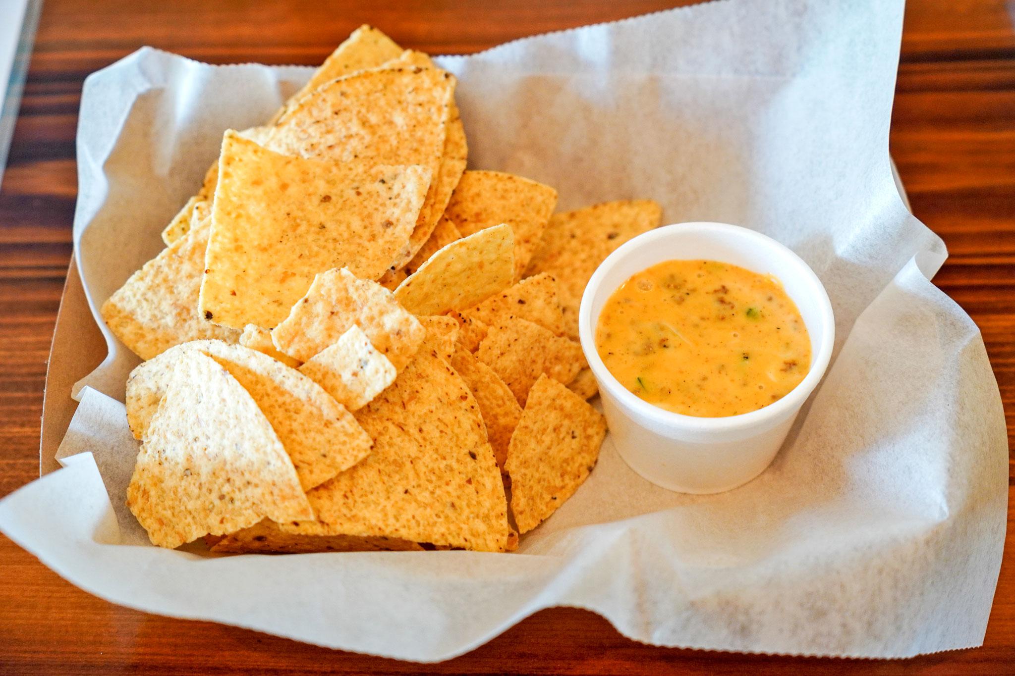 Queso Dip with Chorizo (Photo by Haley Haman)