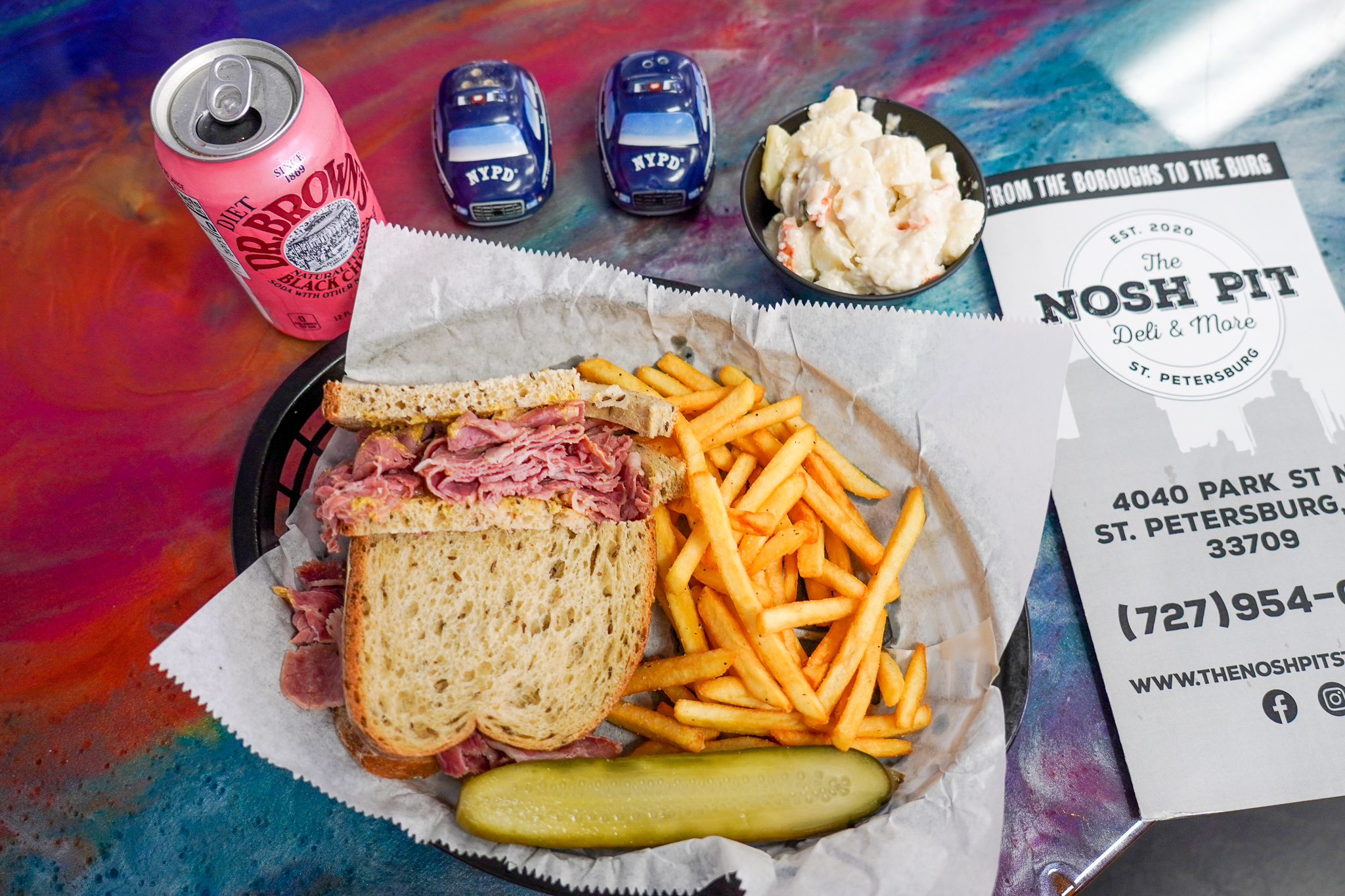 The Nosh Pit Corned Beef Classic
