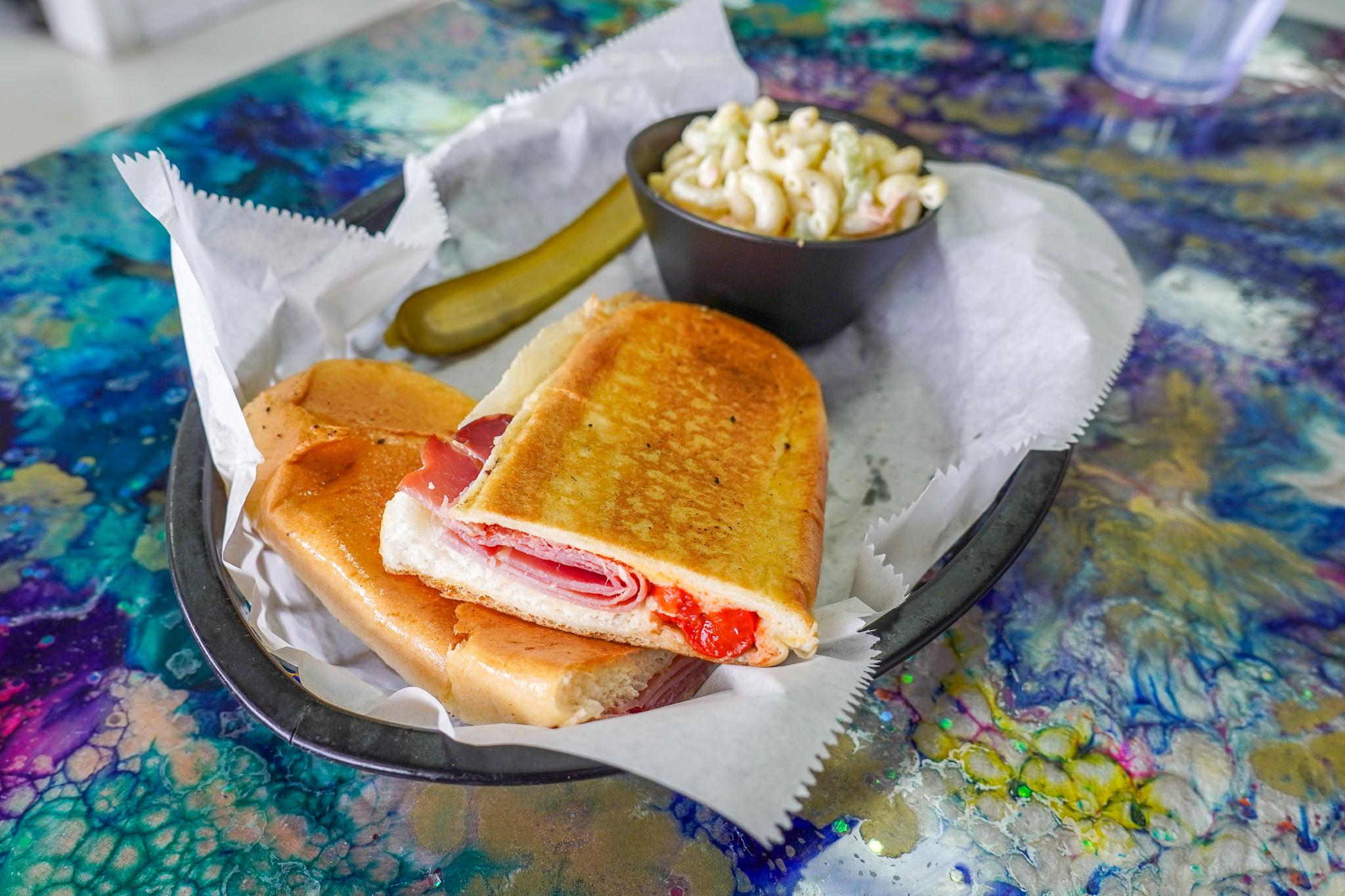 The Nosh Pit The Dali Sandwich