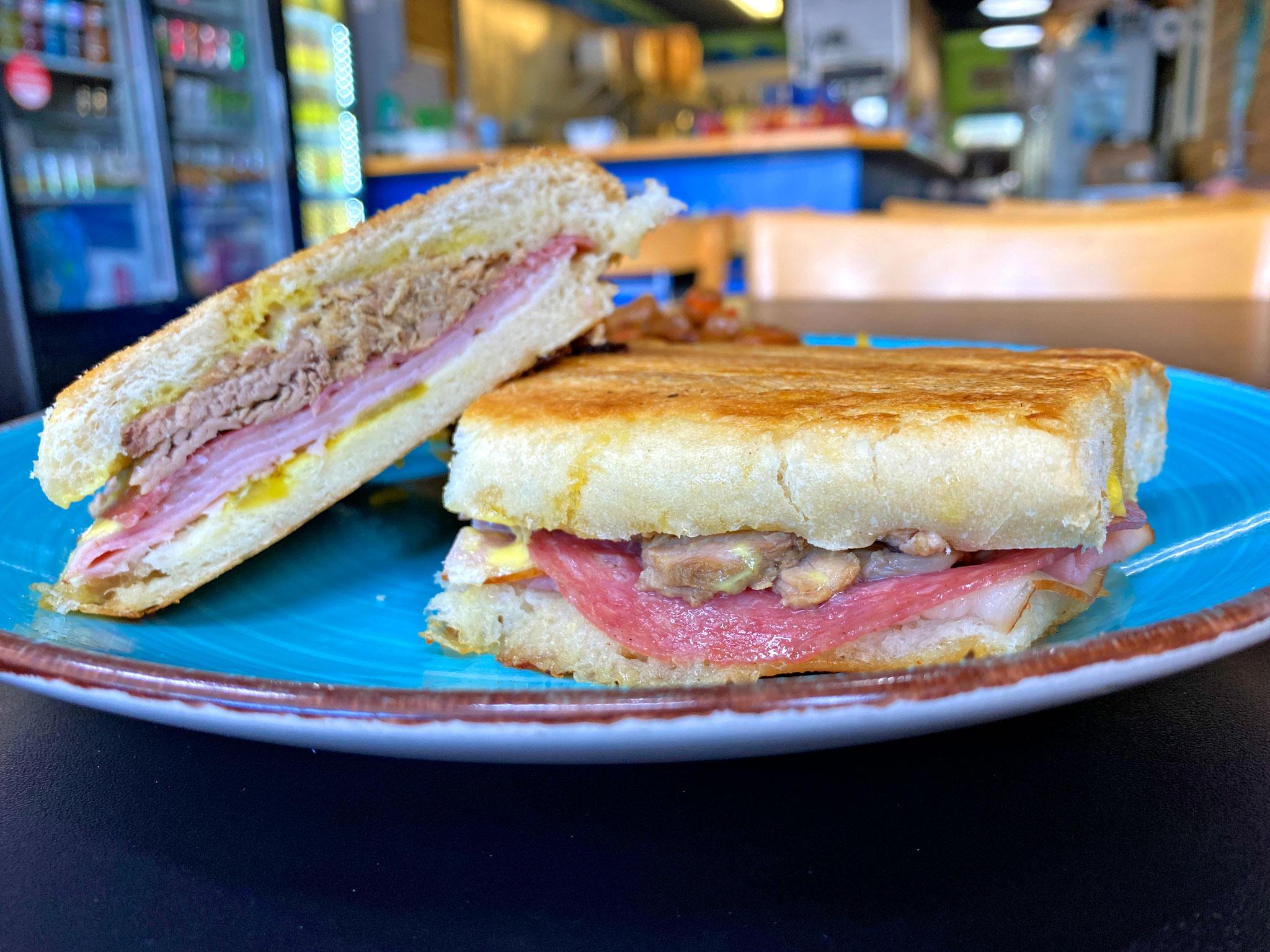 Barracuda Deli Cafe Cuban Sandwich