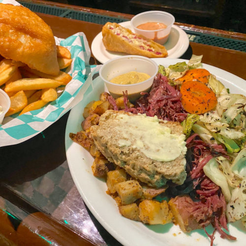 McArthur's Irish Pub - Fish and Chips & the Corned Beef and Cabbage